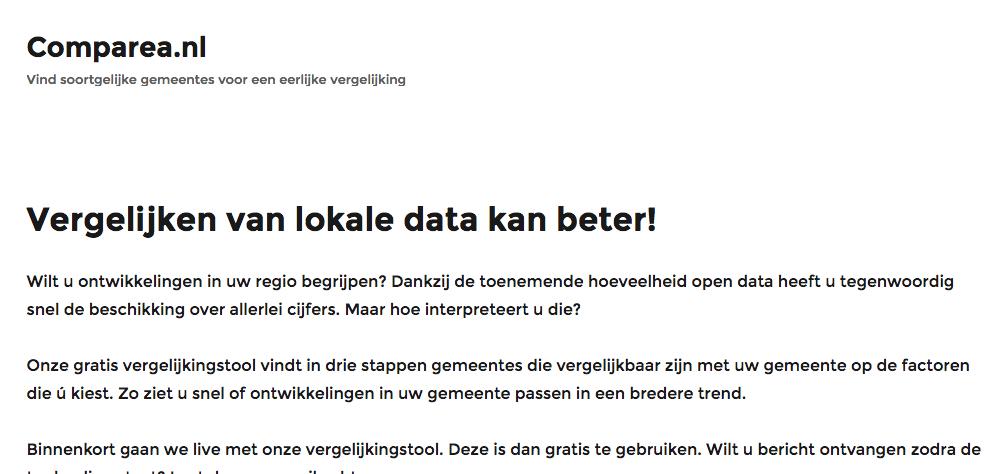 Comparea.nl – Vind soortgelijke gemeentes voor een eerlijke vergelijking 2016-10-12 10-59-37